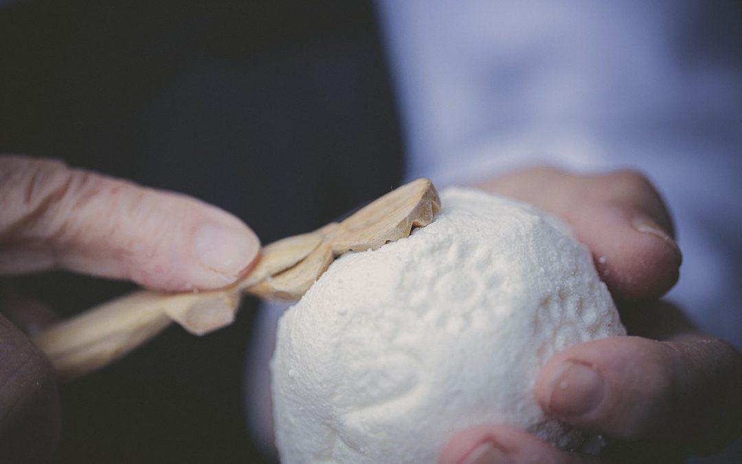 Das alpine Symbol der Liebe – Trnič Käse