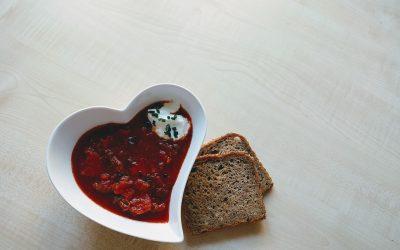 Kühlendes für die Hitzewelle 3 – kalter Borschtsch vegetarisch
